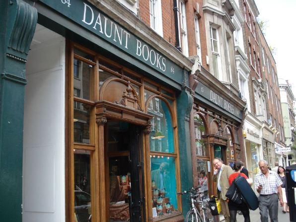 Daunt Books. Image: CC RachelH_ via Flickr