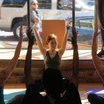 Rob of robyoga.com took this sweet shot of my last class in the Georgetown Athleta Store.