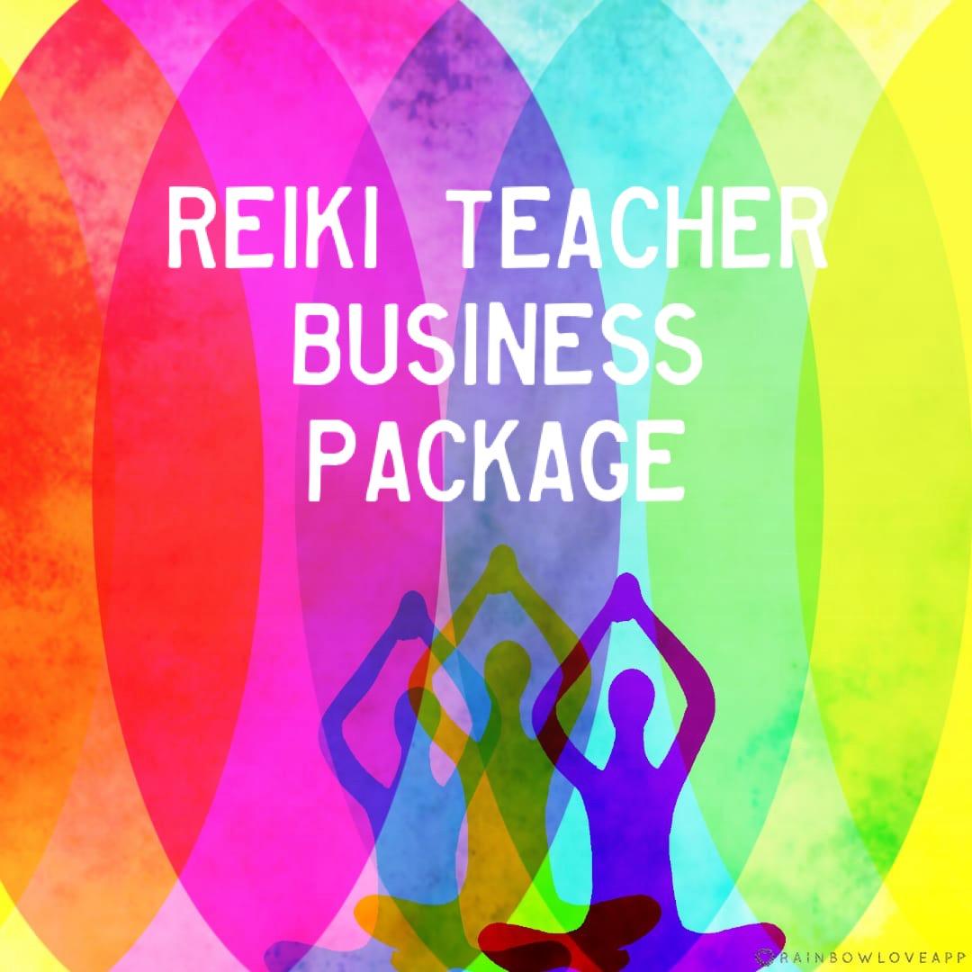 The Reiki Teacher Business Package - Licensed Reiki Manuals MRR Master Resale Rights Reiki Business Toolkit Reiki Master Teacher Manuals