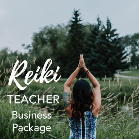 The Reiki Teacher Business Package - Licensed Reiki Manuals MRR Master Resale Rights Reiki Business Toolkit Reiki Master Teacher Manuals
