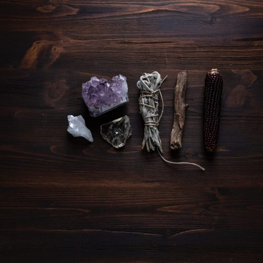 How to Use Crystals to Create Sacred Space by Timmie Horvath - The Sacred Wellness School of Healing Arts | Online Reiki, Crystal Healing, Chakra Therapy, Aromatherapy, and Flower Essence Certification courses