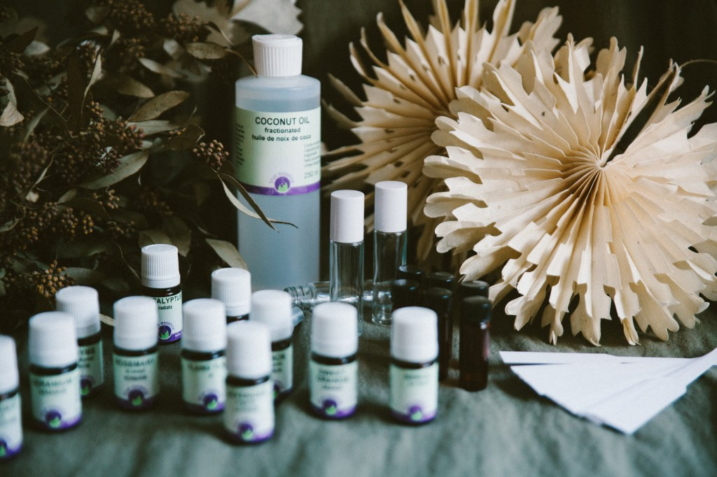 Aromatherapy Practitioner Certification Student Kit for The Sacred Wellness School of Healing Arts