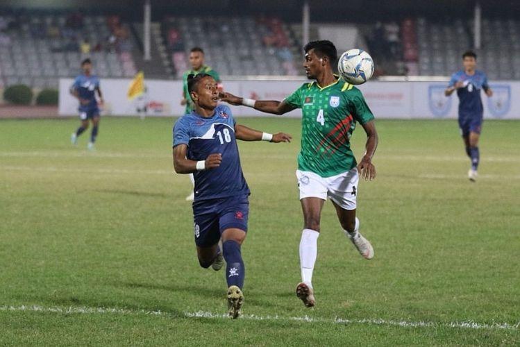 दाेस्राे खेलमा बराबरीमा राेकियाे नेपाल, बंगलादेशसँग लिन सकेन हारको बदला