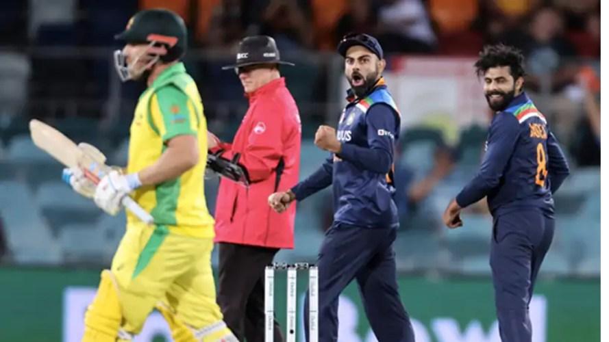 वानडे सिरिज गुमाएको भारतले पहिलो टी-२० खेलमा अष्ट्रेलियालाई हरायो