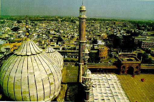 Jumma Masjid at New Delhi,India