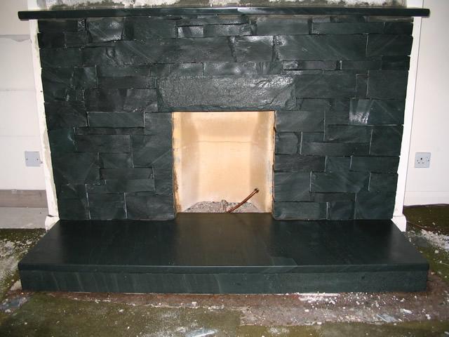 Fireplaces And Hearths Saddleback Slate