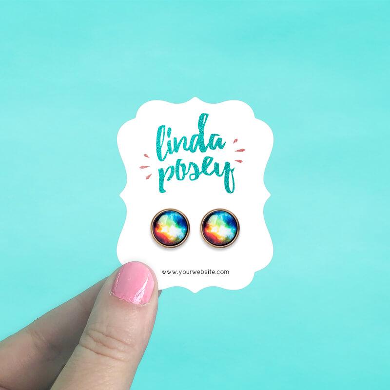 Ornate Jewelry Cards