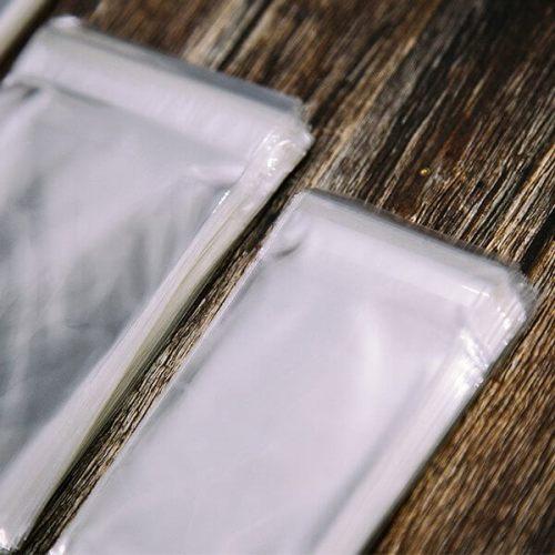 Lip & Tape Self Sealing Polypropylene Cello Bags