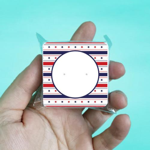 USA Patriotic Stud Earring Cards