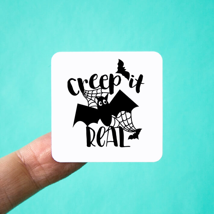 Creep it Real Halloween Stickers