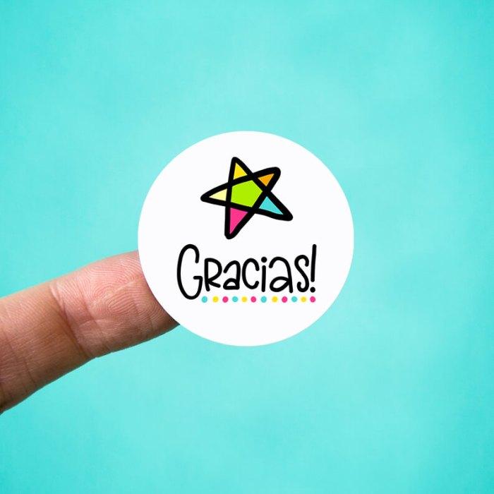 Gracias Stickers