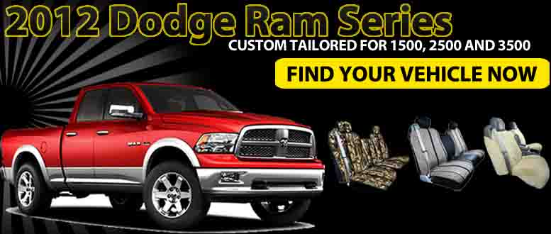 Custom Tailored Seat And Bench Covers For 2012 Dodge Ram