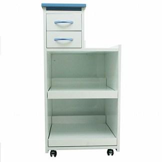 Mobile Utility Cabinet Cart Multi Drawers W/ Wheels Light Blue
