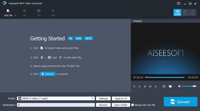 Aiseesoft MP4 Video Converter Crack Patch Keygen Serial Key