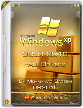 Gold-Windows-XP-SP3-2016-Drivers-By-Computer-Worm-Cover-Image