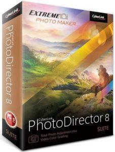 CyberLink PhotoDirector Suite 8 Full Version Crack