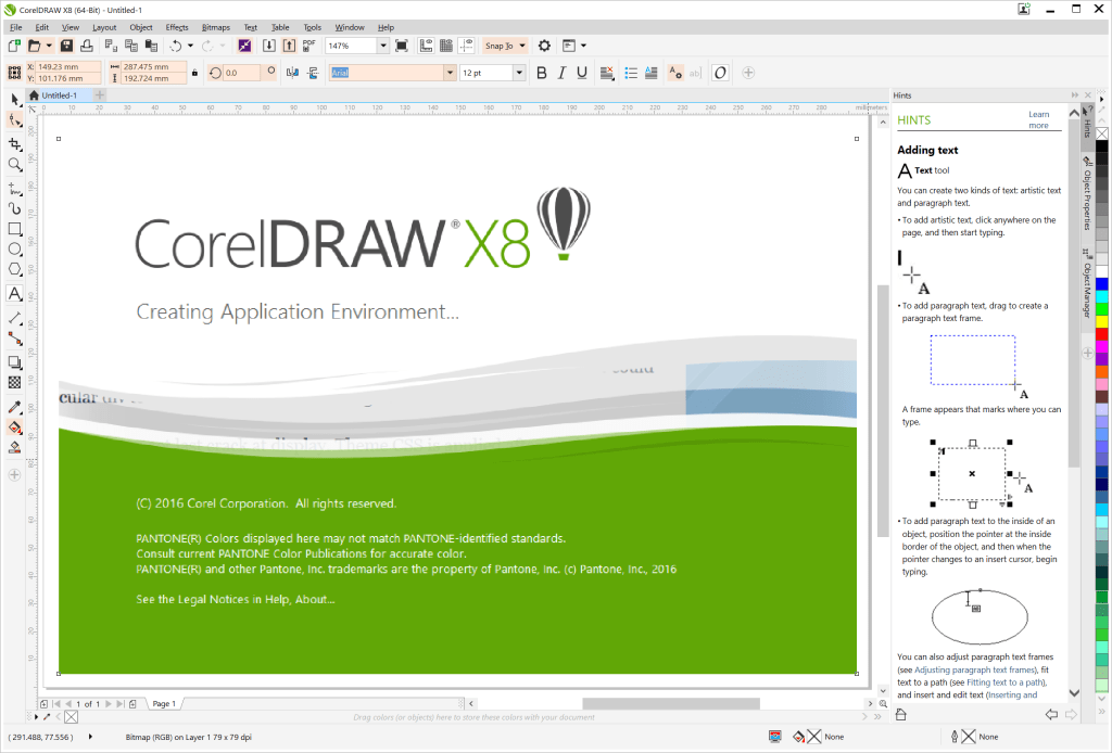 CorelDRAW Graphics Suite X8 Keygen Crack