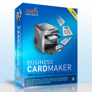 AMS Software Business Card Maker Full Crack