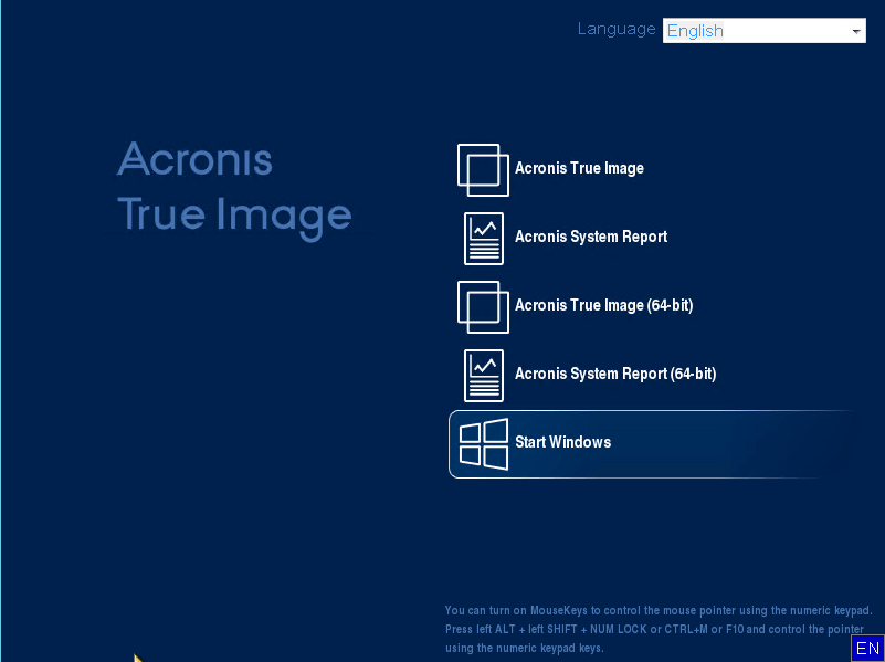 Acronis True Image 2020 Build 25700 Bootable ISO