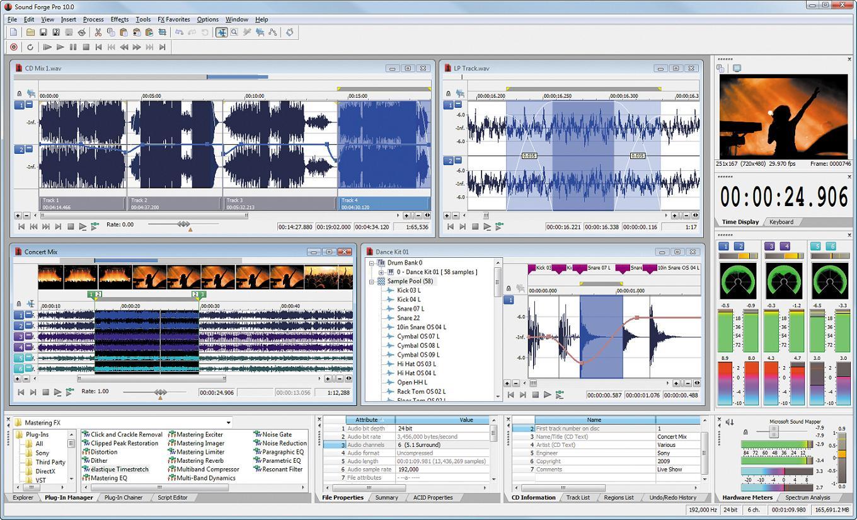 MAGIX Sound Forge Pro Full Crack