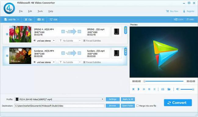 4Videosoft 4K Video Converter Full Crack