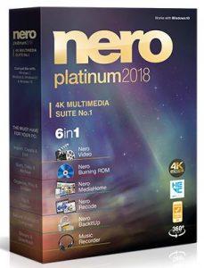 Nero Platinum 2018 Suite Full Crack