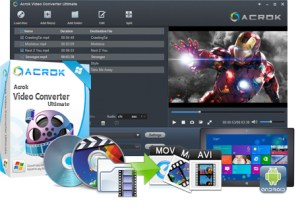 Acrok Video Converter Ultimate Crack Serial Key