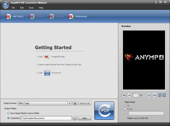 AnyMP4 PDF Converter Ultimate Full Crack