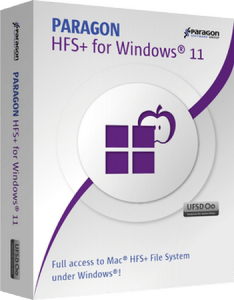 Paragon HFS+ for Windows Crack Serial Key