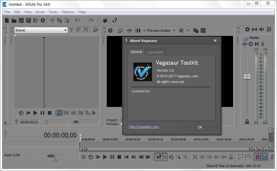 Vegasaur Toolkit 3 Crack Serial key Full