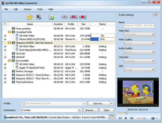 ImTOO HD Video Converter Crack Full Version