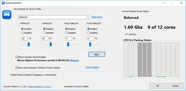 Bitsum ParkControl Pro Full Version Crack