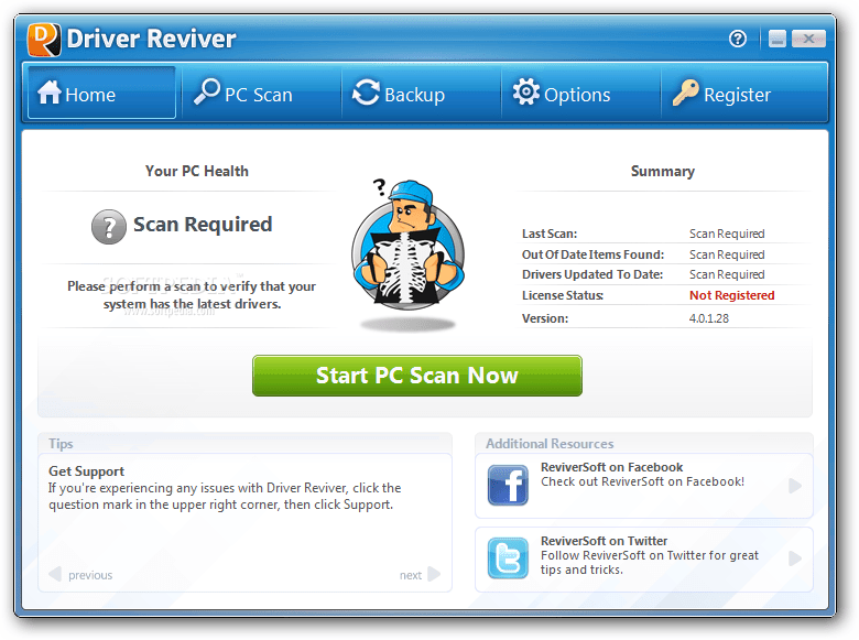 ReviverSoft Driver Reviver Full Crack
