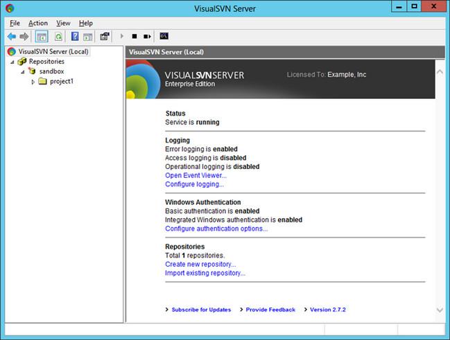VisualSVN Server Enterprise Crack Patch Keygen License Key