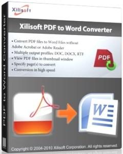 Xilisoft PDF to Word Converter Crack Patch Keygen Serial Key