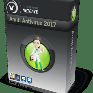 NETGATE Amiti Antivirus 2017 Crack