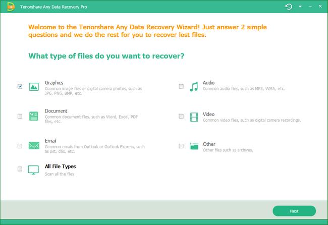 Tenorshare Any Data Recovery Pro Full Crack