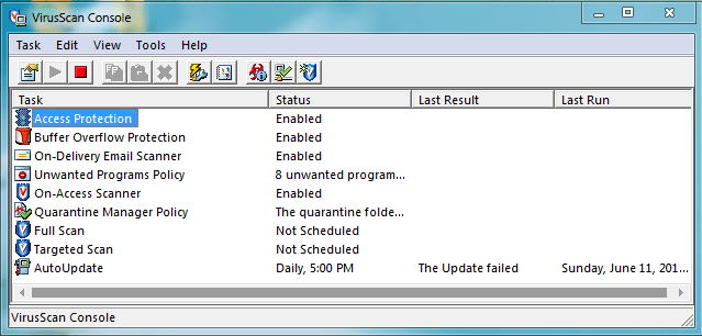 McAfee VirusScan Enterprise Crack Full