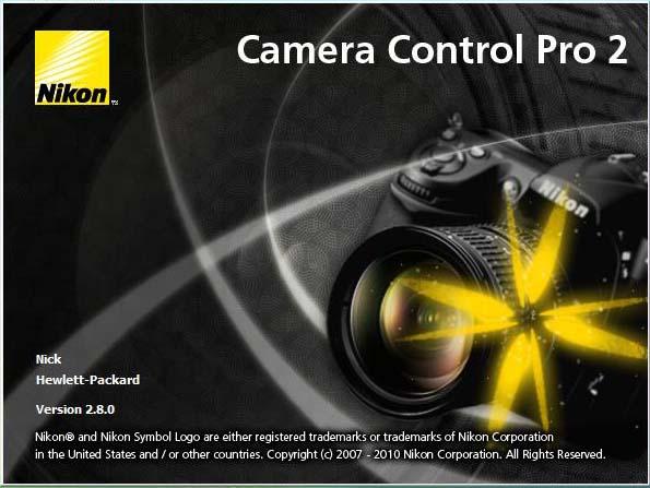 Nikon Camera Control Pro Crack Serial Key