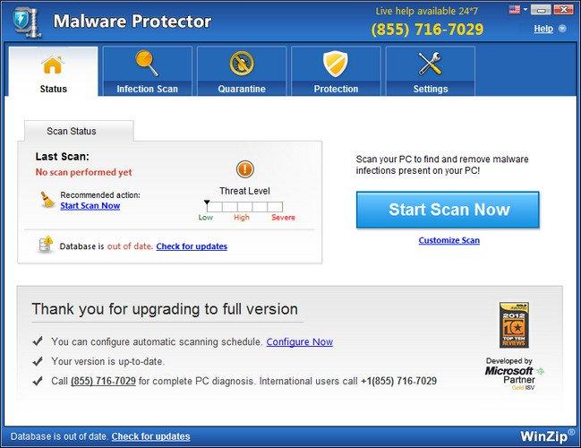 WinZip Malware Protector Full Crack