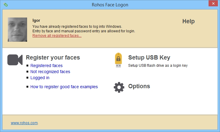 Rohos Face Logon Crack Patch Keygen
