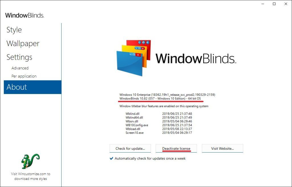 Stardock WindowBlinds Crack Serial key