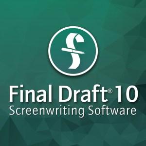 Final Draft 10 Full Crack