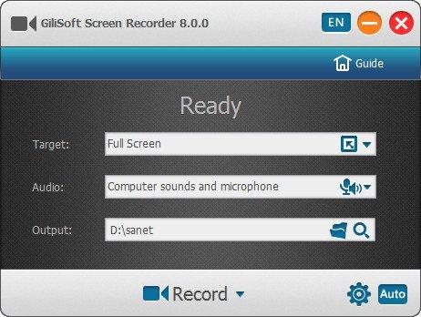 Gilisoft Screen Recorder 8 Full Version Cracked