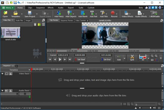 NCH VideoPad Video Editor Professional Crack SeriAL Key