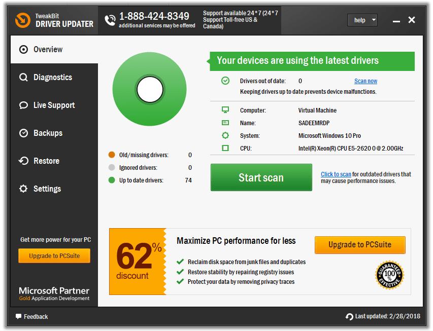 TweakBit Driver Updater 2 Full Version Cracked