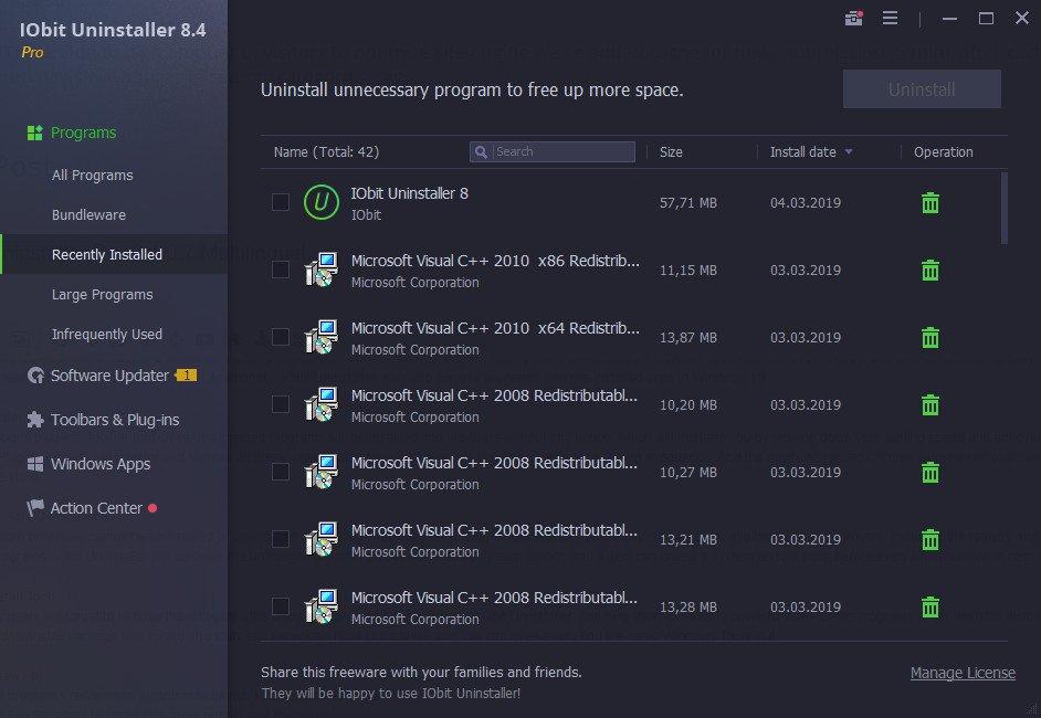 IObit Uninstaller Pro 8 Crack