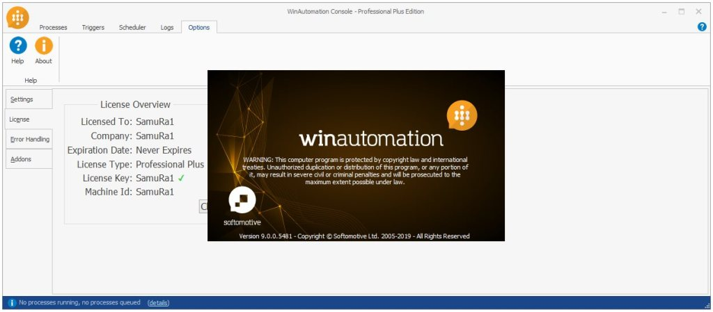 WinAutomation Professional Plus Carck Serial Key