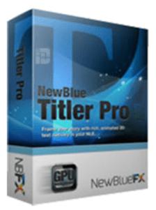 NewBlueFX Titler Pro 7 Ultimate Crack