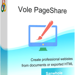 Vole PageShare Pro Crack Full Version